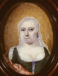 Portret van Maria Lucia van Royen (1713-1757)