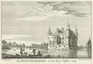 Huis Driesberg aan de Niers bij Kessel