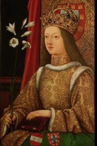 Portret van Eleonore van Portugal