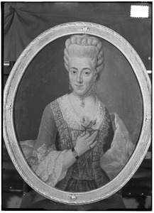 Portret van Eliva Eva van Romondt (1752-1806)