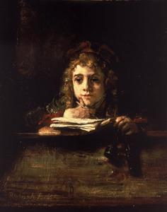 Titus van Rijn aan de lezenaar