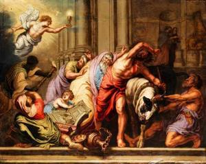Triomf van de Eucharistie over het heidendom