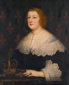 Portret van Maria de' Medici (1773-1642), koningin van Frankrijk