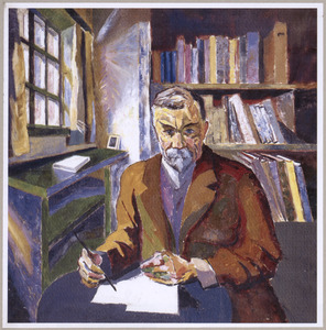Portret van Frederik van Eeden (1860-1932)