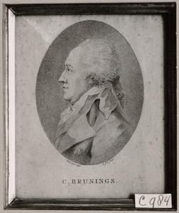 Portret van Christiaan Brunings (1736-1805)
