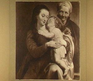 Maria met Christus en Anna
