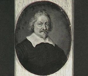 Portret van David Lingelbach I (1592/3-1653)