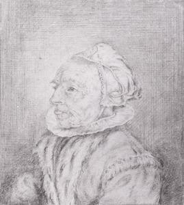 Portret van Gertruda van Lijnhoven (....-....)