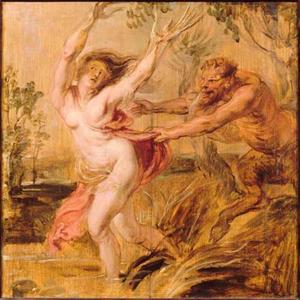 Pan en Syrinx (Ovidius, Metamorfosen, I, 689-712)