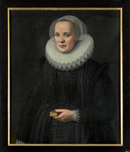 Portret van een vrouw, mogelijk Margaretha van Beaumont