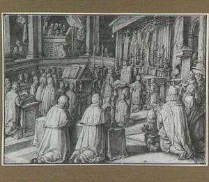 De viering van de Eucharistie