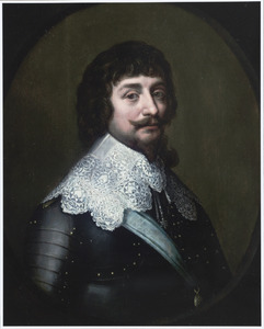 Portret van Frederik V van de Palts, koning van Bohemen