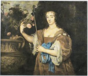 Portret van Dorothy Sidney, Lady Spencer, later Countess of Sunderland (1617-1684), als herderin