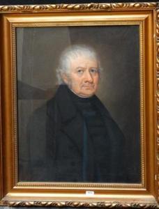 Portret van een man, waarschijnlijk  Willem de Wit (1885/1886-1866)