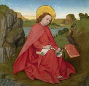 Heilige Johannes op Patmos