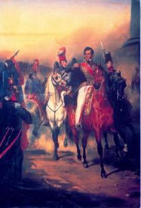 De Hertog van Chartres wordt Koning Louis-Philippe in 1830