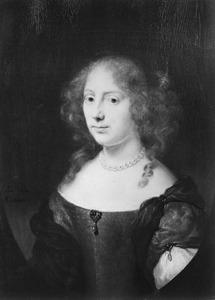 Portret van Aegje Hasselaer ( 1617-1664)