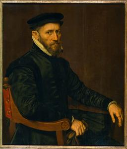 Portret van Sir Thomas Gresham (1519-1579), echtgenoot van Anne Ferneley