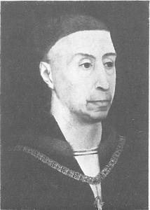 Portret van Philips de Goede, hertog van Bourgondië