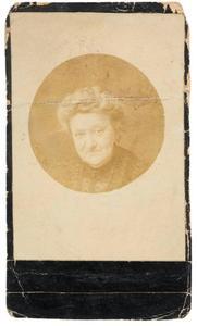 Portret van Elizabeth Maria van der Wurff (1847-1924)
