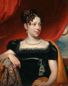 Portret van Anna Louisa Agatha van Winter (1793-1871)