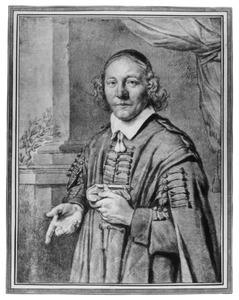 Portret van een Haarlemse (?) katholieke geestelijke