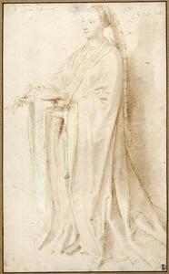 Studie van Johanna van Castilië