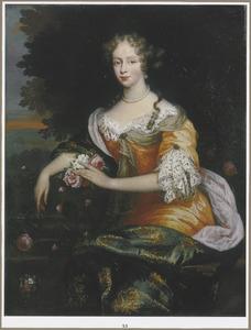 Portret van Helena Stoutenburgh (1663-1702), echtgenote van Jan van der Haer