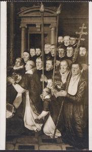 Portretten van leden van de Sacramentsbroederschap van de Sint-Salvatorskerk in Brugge