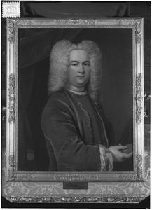 Portret van Nicolaas Hans Willem van Delen ( -1743)
