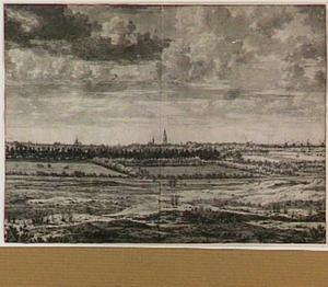Den Haag, gezien vanuit het noorden