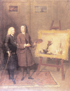 Thomas Walker en Peter Monamy (1670-1749)