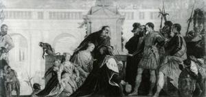 De vrouwen van Darius voor Alexander de Grote