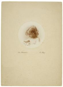 Portret van Petronella Steffanie Camerling Helmolt (1912- )