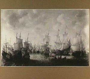 Zeeslag in 1666