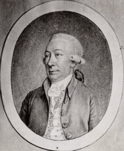 Portret van Quirijn van Bambeeck van Strijen ( -1792)