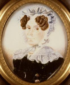 Portret van mogelijk Elizabeth Theodora Hendrika Vincent (1781- )