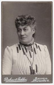 Portret van Cornelie Huygens (1848-1902)