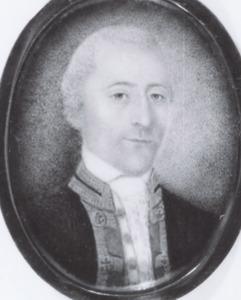 Portret van Francois Jacob Wierts ( -1798)