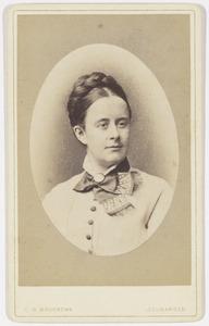Portret van Johanna Adriana Dozy (1848-1930)