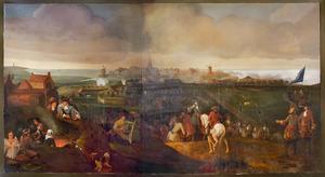 Het beleg van Harlingen door de Franekers aan het eind van de 15de eeuw