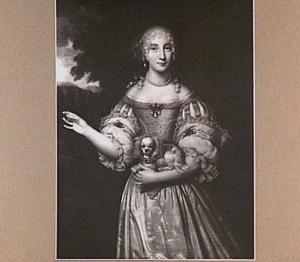 Portret van Maria Piso (1650-1729)