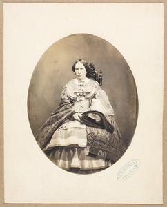 Portret van Louise van Oranje-Nassau (1828-1871)