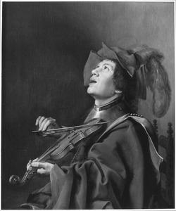 Een jonge violist (het Gehoor)