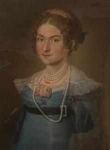 Portret van een vrouw, waarschijnlijk Antonetta Theresia Christiana von Orsbach (?-1837)