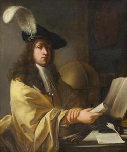 Portret van een jonge geleerde