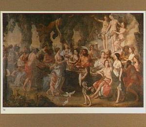Het huwelijksmaal van Peleus en Thetis