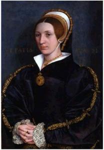 Portret van een vrouw uit de familie Cromwell