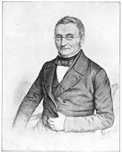 Portret van Dionys Burger (1788-1860)