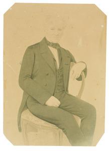 Portret van Rengerus Hendrik Sjuck Gerrold Juckema van Burmania Rengers (1796-1873)